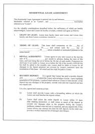 10 best images of rental property lease agreement residential