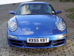 blue porsche 911 classic chrome porsche 911 carrera 4s 2005 55 blue