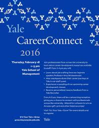 Sample Resume Yale Law by Yale Careerconnect 2016 Working Women U0027s Network