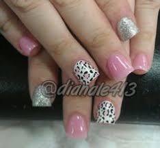 pink and gold leopard nails sation teachers pet victoria secret