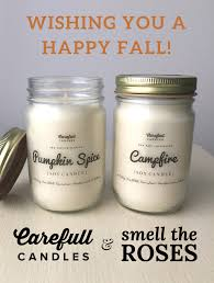 october giveaway fall scented carefull candles smell the roses