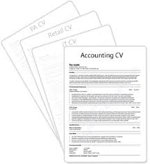cv profile examples for retail