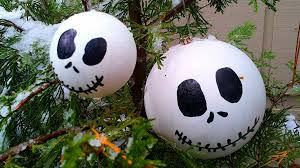 christmas diy jack the skellington ornaments youtube