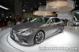 lexus india 2018 lexus ls to launch in india in january 2018