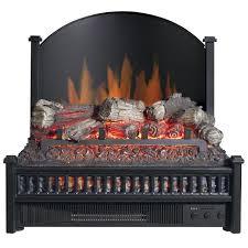 comfort glow elcg347 electric log insert heater u0026 rear reflecting