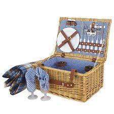 vintage picnic basket wicker picnic basket ebay