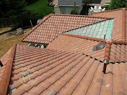 Flat Tile Roof Leska Llc Maryland Bethesda Roofers Tile Roof Roof Repair