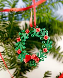 lego wreath ornament mini wreath for windows cool