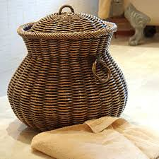 laundry room winsome large wicker laundry baskets with handles