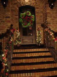 decorations cheerful christmast exterior decoration with unique