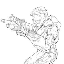 Easy To Color Free Printable Halo Coloring Pages For Kids Free Call Of Duty Black Ops Coloring Pages