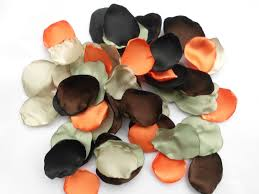 camo flower petals 100 handmade camo wedding flower petals