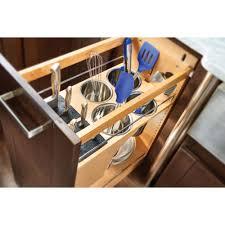 rev a shelf 25 5 in h x 11 in w x 21 56 in d pull out wood base