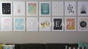 diy photo mounting for a cheap easy gallery wall it u0027s always
