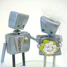 Wedding Toppers Robot Wedding Cake Toppers Popsugar Tech