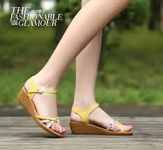 Comfortable Wedge Pumps New 2016 Famous Summer Sandals Women Shoes Comfortable Soft Soled