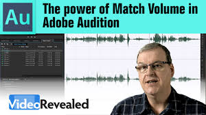 the power of match volume in adobe audition youtube