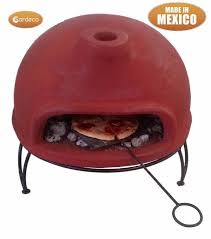 Chiminea With Pizza Oven Gardeco Portable Clay Pizza Oven Garden Furniture Chimineas