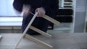 assembling the ikea bekväm stepstool youtube