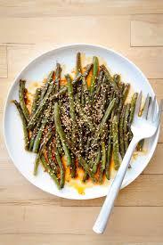 szechuan style green beans a modest feast