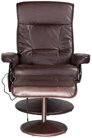 Brown Leather Recliner Chair Sale Amazon Com Relaxzen 60 425111 Leisure Recliner Chair With 8 Motor