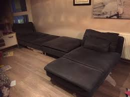 ikea söderhamn soderhamn sofa chaise lounge and footstool in