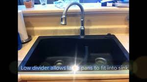 Granite Kitchen Sink Omg Swanstone Qzls 3322 077 33 Inch By 22 Inch Drop In Largesmall
