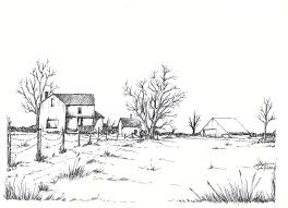 House Drawings by Farm Drawing