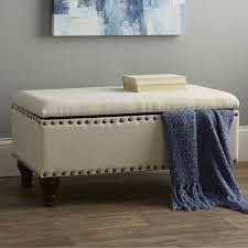 Storage Bedroom Bench Upholstered Bench For Bedroom U003e Pierpointsprings Com