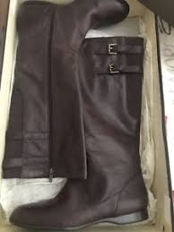 womens boots size 11 ebay womens enzo angiolini brown leather boots size 11 ebay