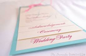 in memory of wedding program free printable wedding program templates you ll