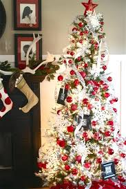 christmas ideas red and white christmas decorations red tree decoration ideas red