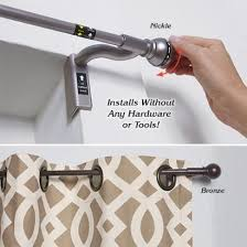 Curtain Rod 72 Inches Twist And Fit Curtain Rods Eyelet Curtain Curtain Ideas