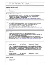 Executive Resume Template Free Resume Template Free Executive Templates Classic With 81