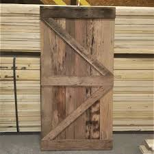 custom milled barn doors 84 lumber