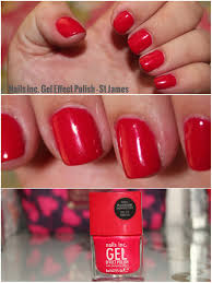 obsessed by beauty nails of the week nails inc gel effect