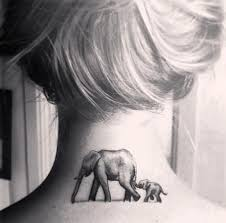 cute and impressive elephant tattoo ideas