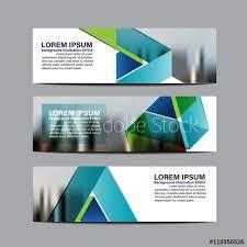 layout banner design design layout banner lovely collection business banner set vector