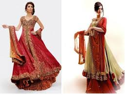 beautiful embroidery bridal dresses for asian brides girls 0