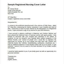 Sample Registered Nurse Resume Registered Nurse Cover Letter Sample Image Collections Cover