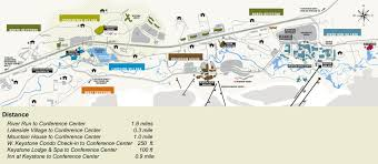 Colorado Ski Resorts Map Keystone Lodging Map Cabin And Lodge