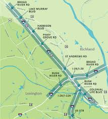interstate 26 map carolina crossroads