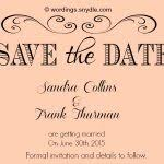 save the date wording save the date wording sles wordings and messages formal save
