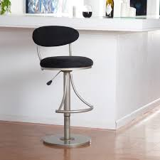 short bar stools contemporary silver white stool made from swivel