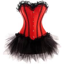 Burlesque Halloween Costumes U0026 Black Moulin Rouge Costume Burlesque Corset Skirt