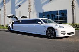 porsche panamera limo porsche limousine porsche panamera stretch limo mieten