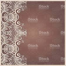Invitation Card Border Design Abstract Background Lacy Frame Border Pattern Wedding Invitation