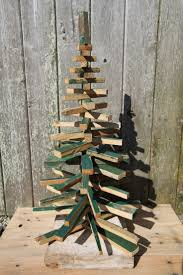 rustic wood christmas tree i want to make one of these to put on