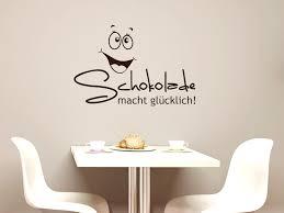 k che wandtattoo wandtattoo wandaufkleber deko für küche spruch schokolade