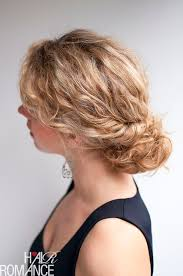 tuck in hairstyles curly hairstyle tutorial the twist tuck bun hair romance